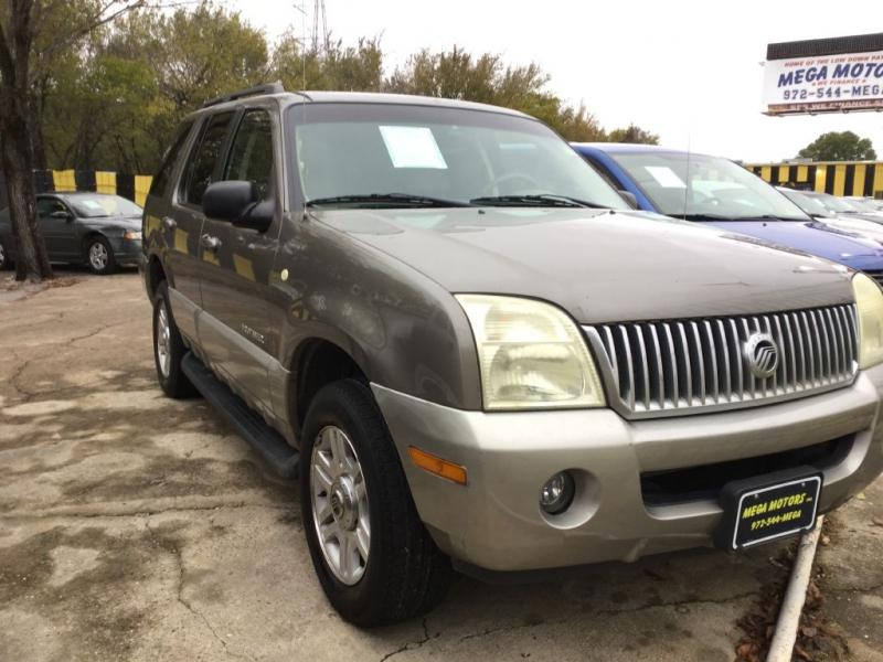 2002 Mercury Mountaineer $525