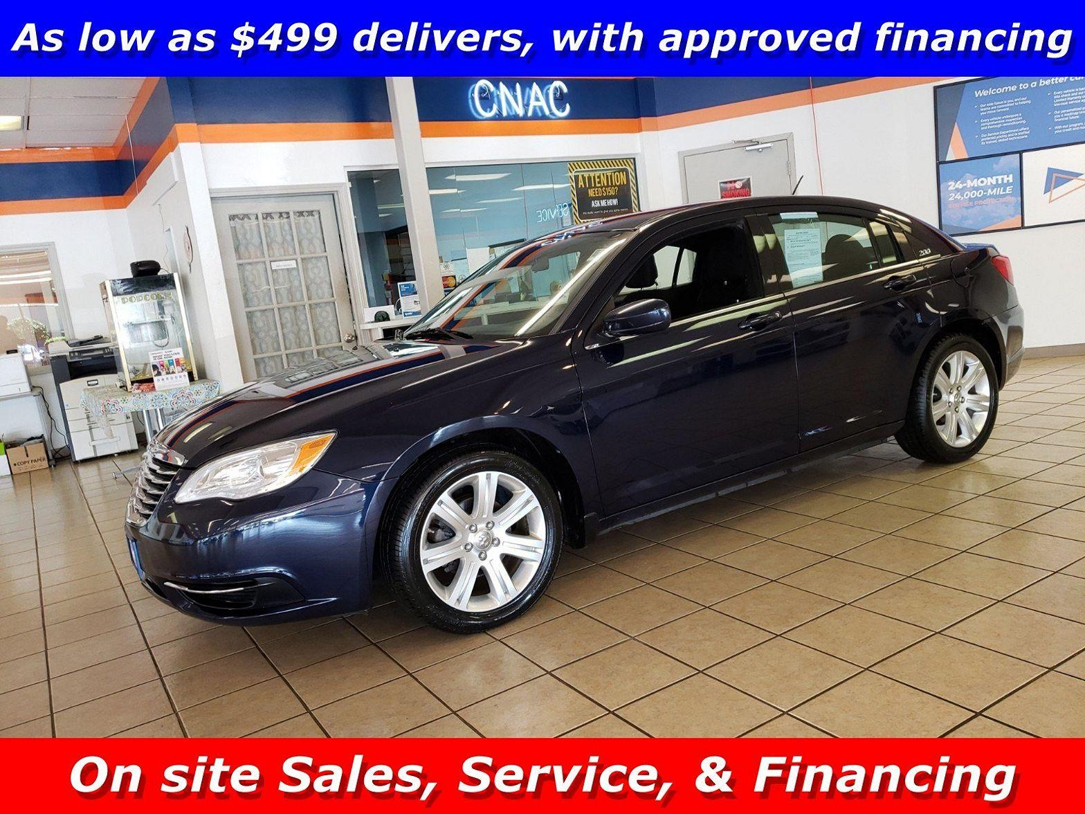 2013 Chrysler 200 $499