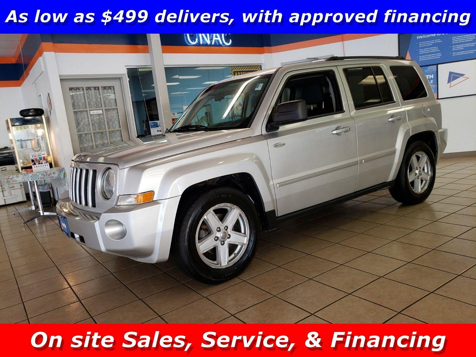 2010 Jeep Patriot $499