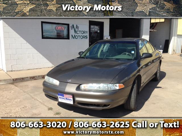 2001 Oldsmobile Intrigue $1107