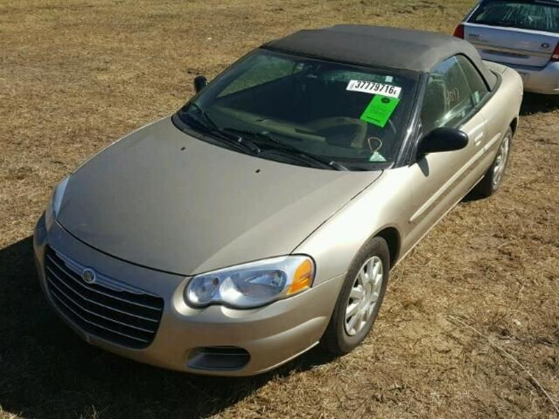 2004 Chrysler Sebring $999