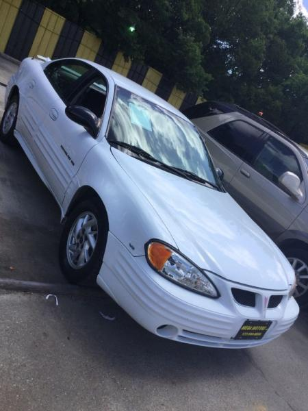 2002 Pontiac Grand Am $525