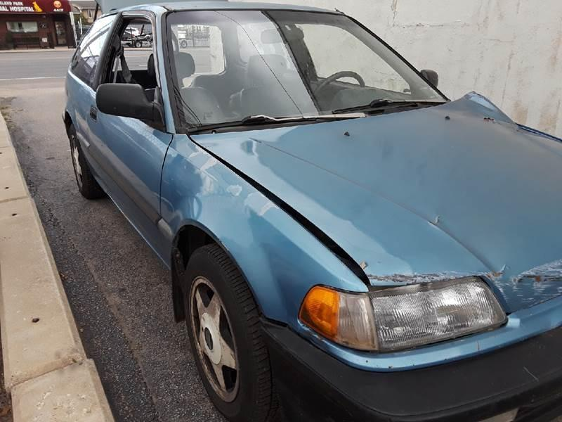 1991 Honda Civic $975