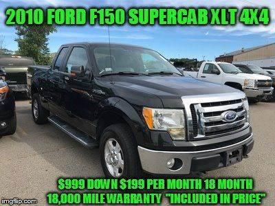 2010 Ford F-150 $999