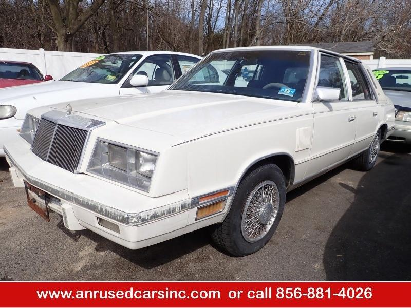 Ford Dealers Nj >> 1983 Chrysler New Yorker $995 for sale $995