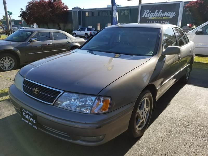Rightway Auto Sales >> 1999 Toyota Avalon $1000 for sale $1000